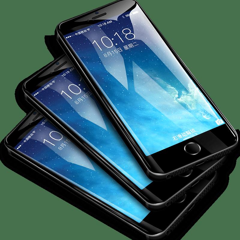 苹果5s钢化iphone5s se 5c磨砂送屏保