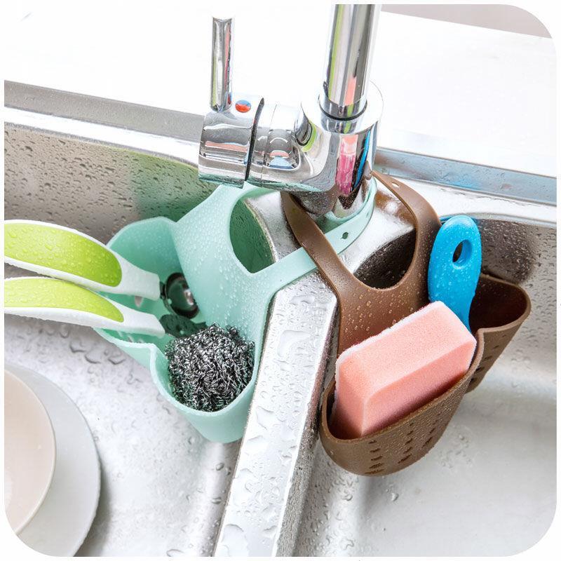 水槽塑料沥水篮收纳挂篮厨房小用品厨具置物架收纳架沥水架置物架