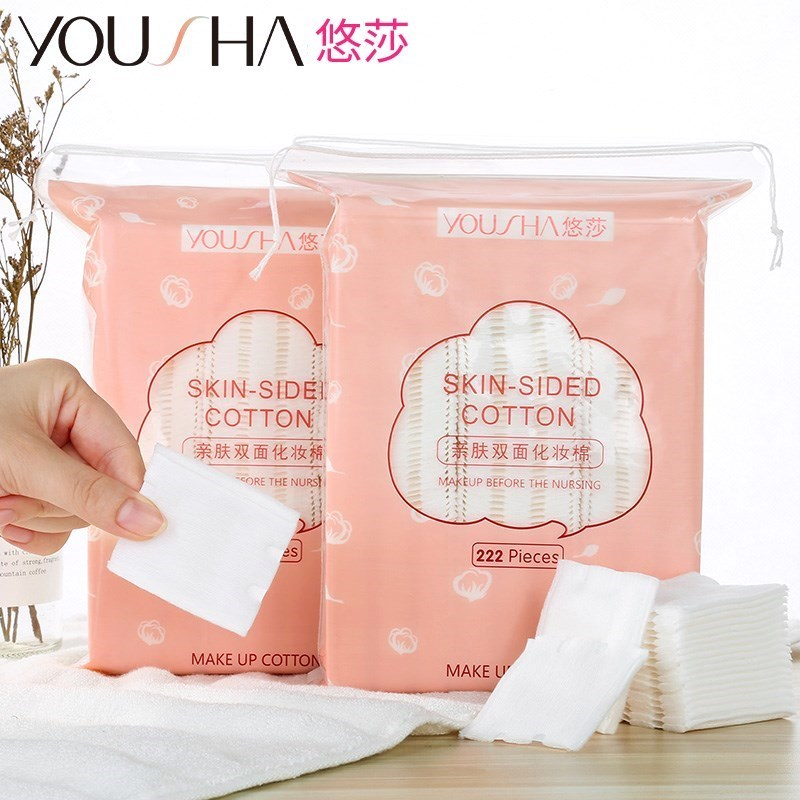 Make up cotton, make-up cotton, womens pure cotton, 1000 pieces in thick box, one-time large piece for face.