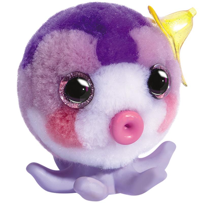 绒豆豆玩具创意diy手工小伶毛绒玩偶娃娃六一儿童节礼物溶萌宠