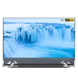 海信VIDAA 65英寸4K智能AI聲控全面屏百瓦音響平板電視機官方5560