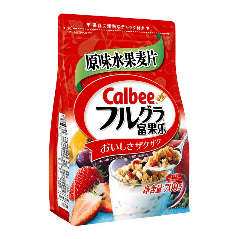 【卡乐比】进口水果麦片700g
