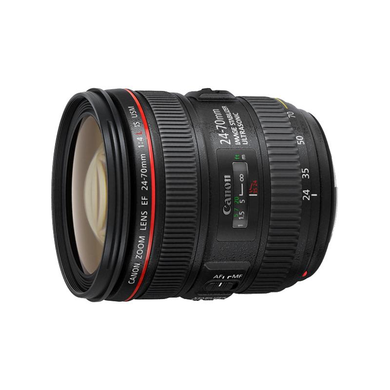 佳能24-70 f4镜头 EF 24-70mm f4L IS USM 红圈单反镜头 全新行货