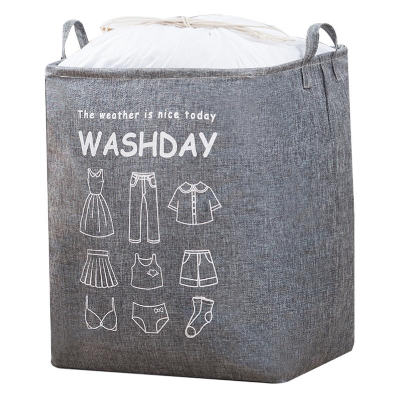 衣服收纳箱子整理箱布艺特大号衣物储物筐家用神器衣柜折叠收纳袋