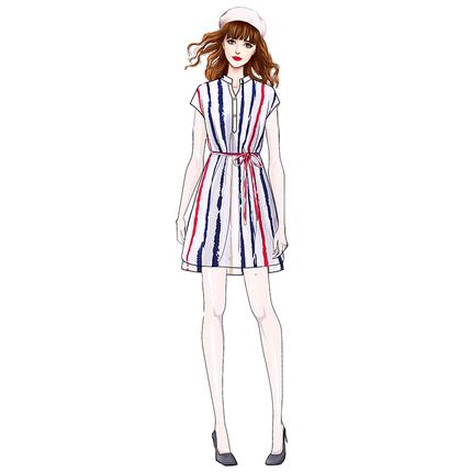 2019新款夏超仙女森系法式女连衣裙