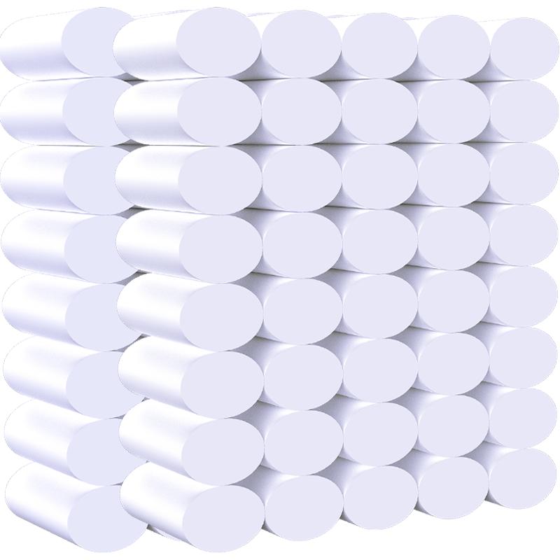 伊薇卫生纸大卷纸家用纸巾手纸抽整箱批厕纸卷筒纸实惠装无芯厕所