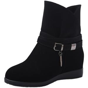 2021年新款内增高女士百搭马丁靴