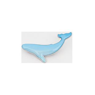 藍鯨魚胸針女可愛日系徽章卡通ins潮個性開衫扣別針書包包裝飾diy