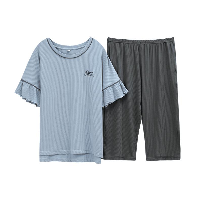 【两件套】莫代尔舒适睡衣套装