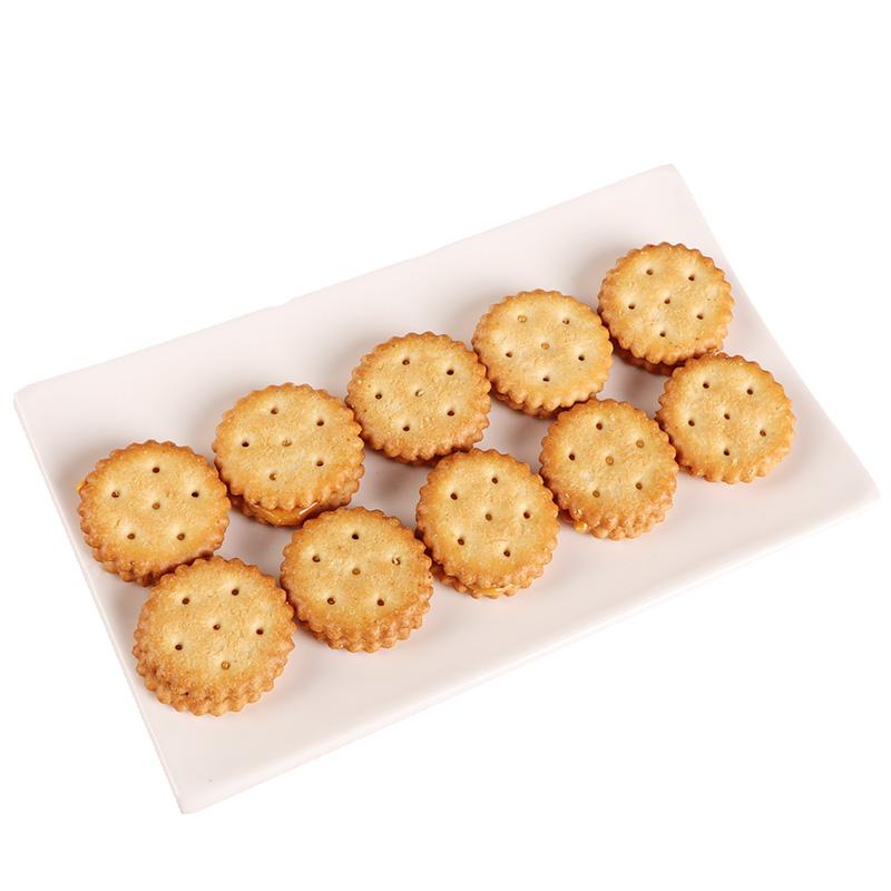 【拍5件】网红咸蛋黄夹心麦芽饼干