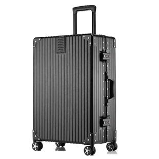 行李箱女ins網紅旅行箱男小型20寸登機箱24密碼皮箱子26拉桿箱潮