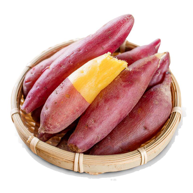 特A级正宗临安天目山小香薯礼盒5斤装红薯山芋农家板栗地瓜小番薯