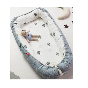 多功能可折叠宝宝车床新生儿床中床