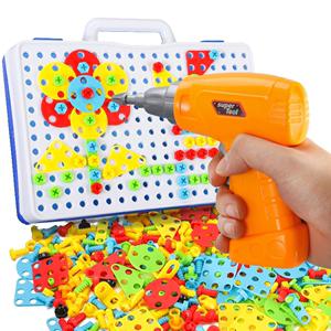 螺丝钉组装玩具电钻4宝宝2工具箱