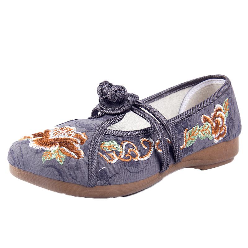 【赛格】老北京布鞋绣花鞋民族风