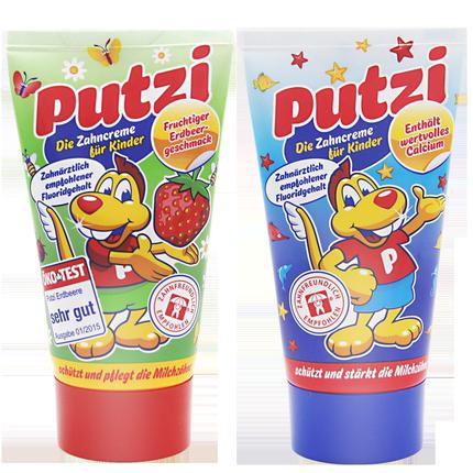 德国putzi 0进口2 3宝宝食牙膏