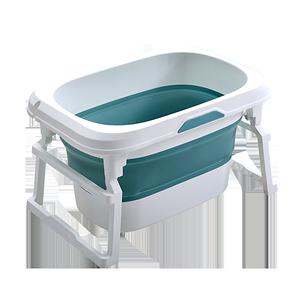 宝宝折叠游泳桶家用大号洗澡桶