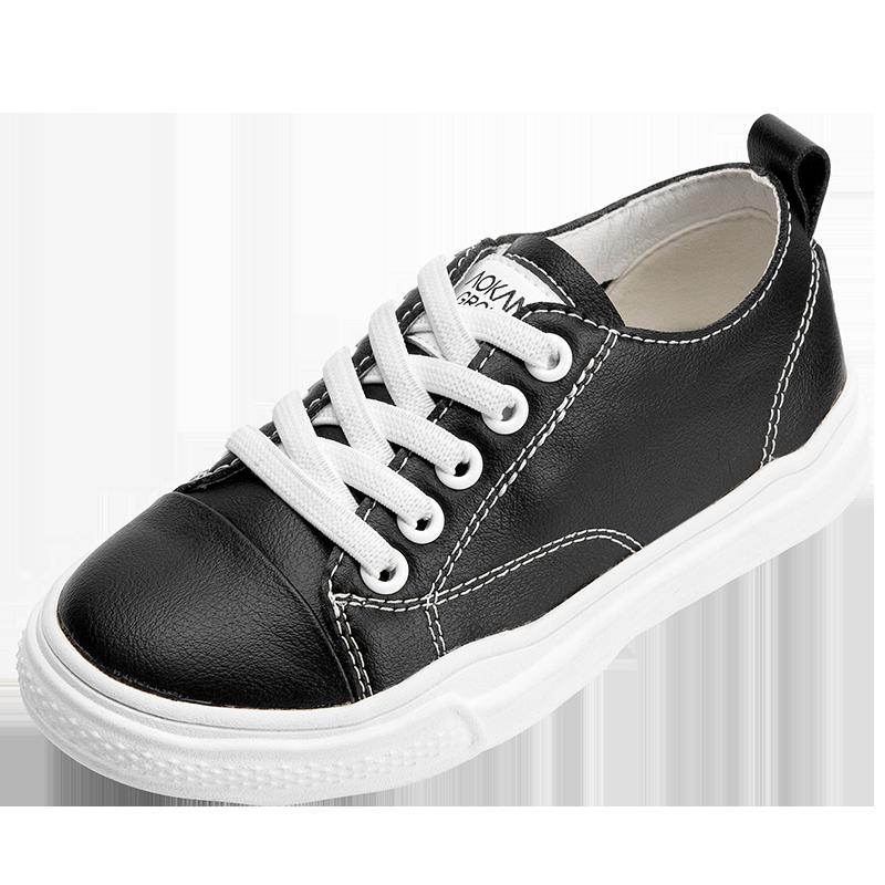 奥康童鞋男童小白鞋2020夏季新款时尚休闲平底百搭女童小白鞋板鞋