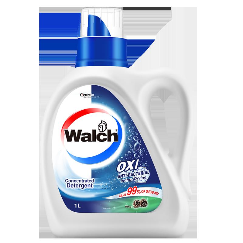 威露士抗菌洗衣液1kg 松木亮白手洗学生宿舍 除菌*除螨99%去异味