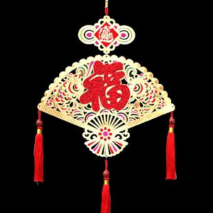 2019春节金箔装饰挂件