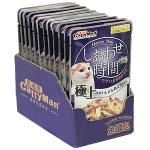 领【3元券】购买12包日本多格漫妙鲜湿粮包猫咪罐头