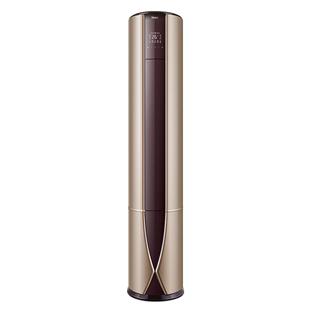 海爾3匹p變頻空調一級能效櫃機立式圓柱空調EAB帝尊內外機自清潔