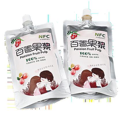 柳方百香果酱250g*2果浆奶茶原料