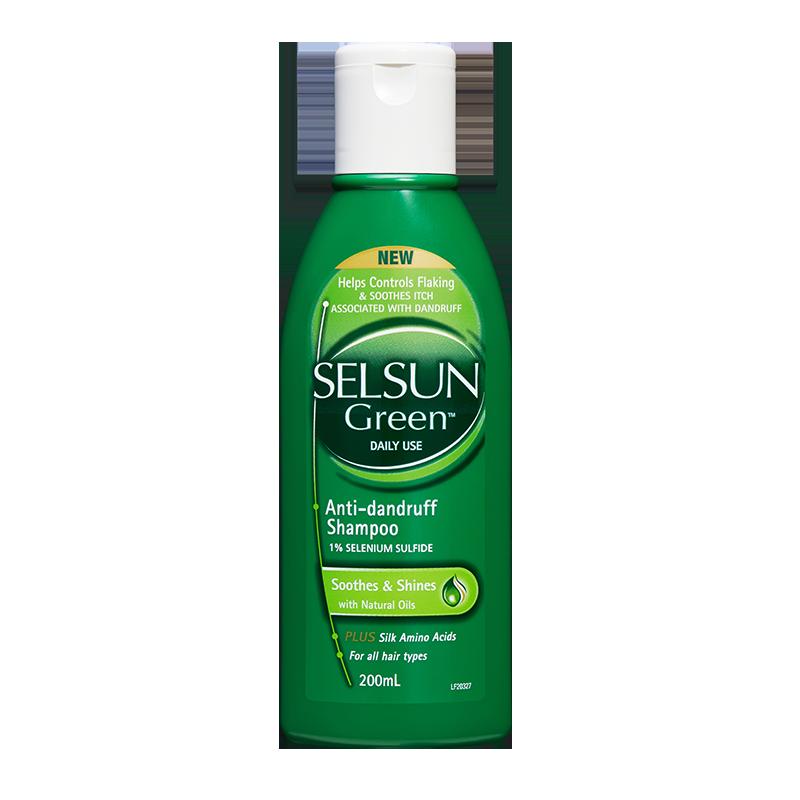 头皮舒缓去屑洗发水200ml小绿瓶