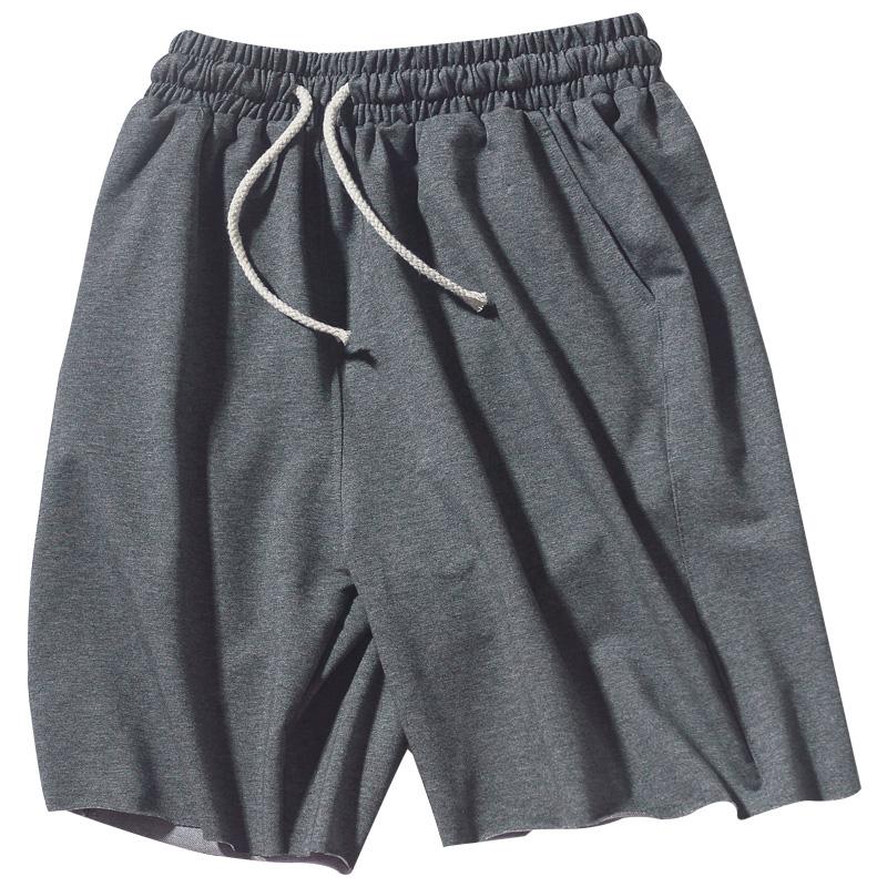 夏季休闲短裤男潮宽松棉质篮球裤子质量好不好