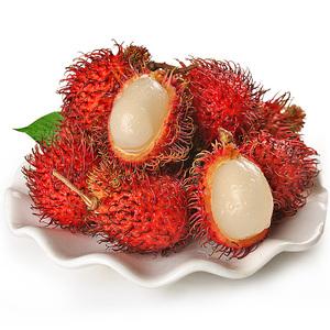 海南带箱6斤三亚新鲜热带红毛丹