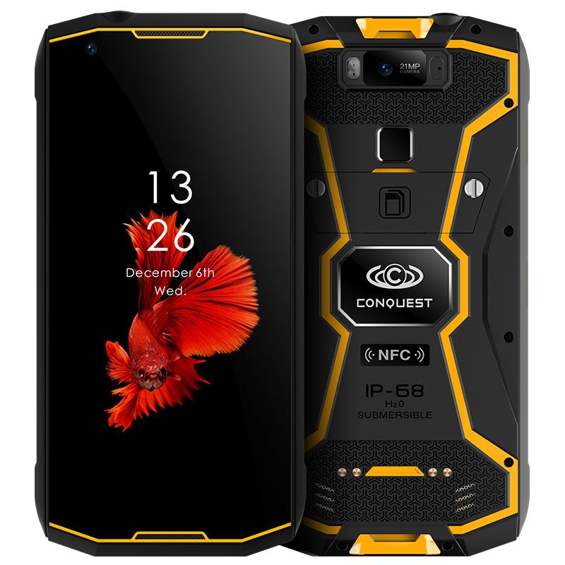 征服CONQUEST S12 户外三防智能手机DMR数模对讲超长待机8000毫安