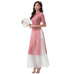 中国舞古典舞名族舞服装旗袍练功服