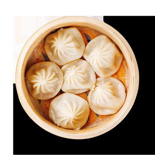 包子菌菇三鲜蒸饺水饺子