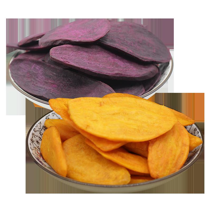 香薯爷油炸红薯片手工地瓜片红薯干脆紫薯片干零食地瓜片香脆山芋