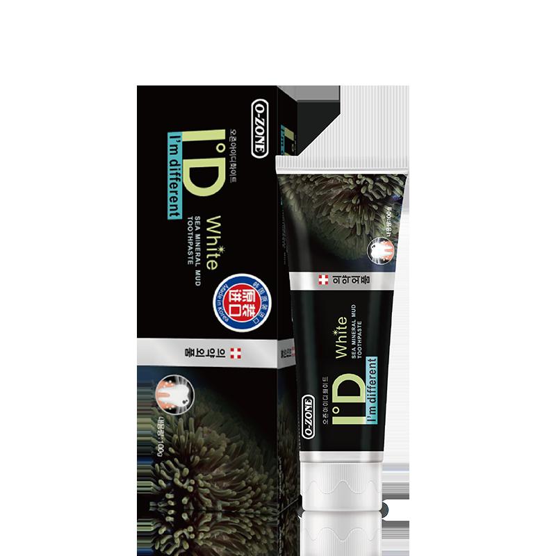 韩国进口牙膏竹炭除菌亮白100g