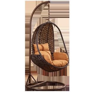 歐德户外吊籃吊椅藤椅單人鳥巢鞦韆成人室內陽台户外庭院搖籃椅