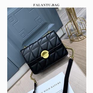 包包2020新款潮時尚百搭網紅洋氣流行高級感斜挎鏈條小包小ck女包