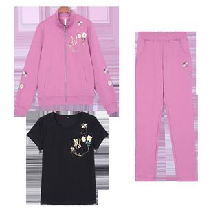 秋季运动套装两件套2020新款卫衣