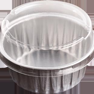 烤樂仕 烤箱布丁杯耐烤加厚鋁箔蛋糕杯烘焙法式月餅酸奶烤碗模具