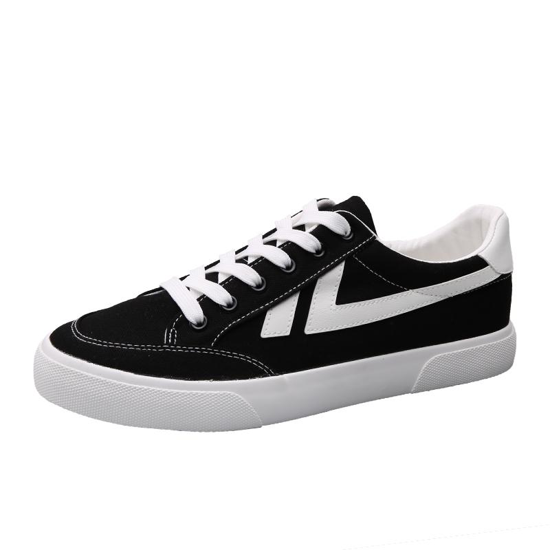 2021新款潮流百搭黑白夏季帆布鞋怎么样