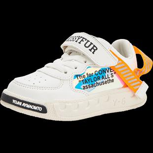 儿童女童小白鞋2019新款秋季童鞋