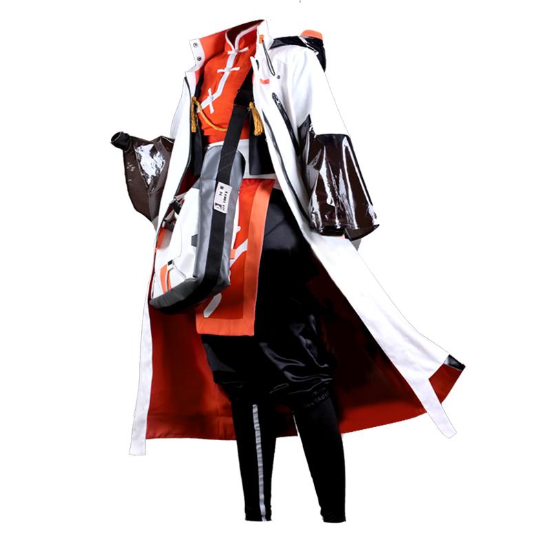 面包家cosplay明日方舟阿六星少年游戏cos服假发尾巴套装