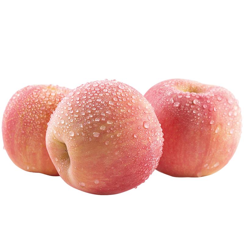 陕西玉华红富士苹果整箱3斤