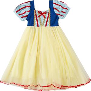 童装2020女童公主裙夏白雪公主裙子