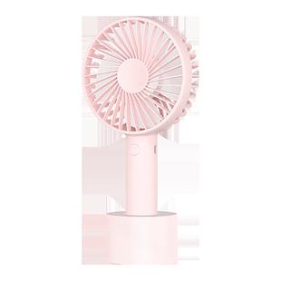 素樂小風扇usb便攜式手持小型隨身可充電學生宿舍桌面辦公室女桌上手拿握迷你電小米大風力超靜音n9兒童電扇