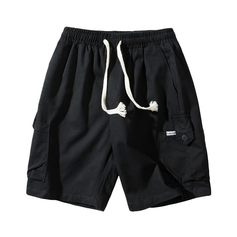 【HOWO】裤子男夏薄款男士休闲短裤韩版潮流五分工装宽松运动裤