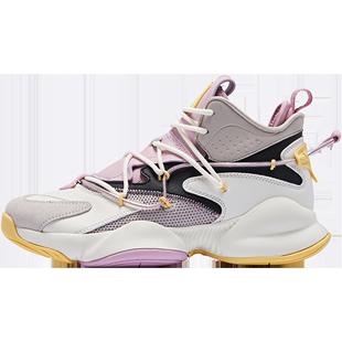 喬丹女鞋高幫籃球鞋女戰靴2020秋冬季新款皮面籃球運動鞋球鞋鞋子