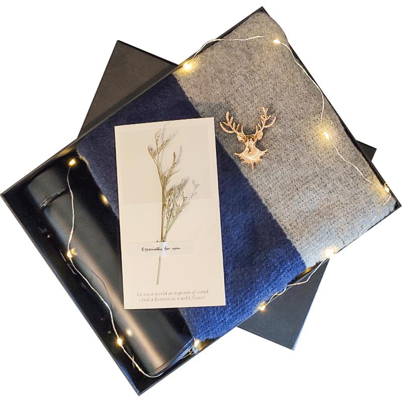 生日礼物适合送男生送给男朋友特别的有意义实用围巾惊喜送男士