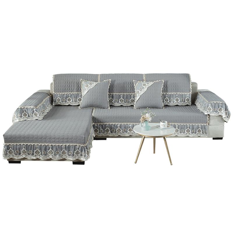 欧式沙发垫子四季通用防滑沙发靠背巾布艺沙发垫全包萬能套罩全盖