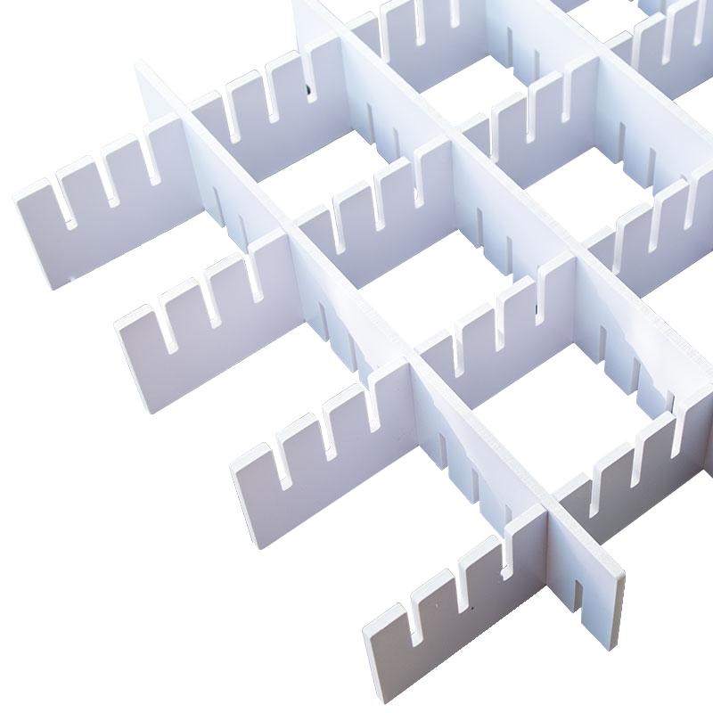 收纳分隔板分层衣柜书架分割分类